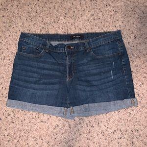 NWOT Joe Fresh Rolled Hem Denim Shorts